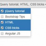 10 demos of Bootstrap multiselect dropdown by using jQuery