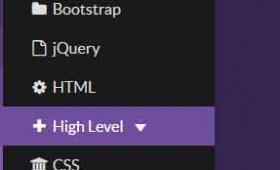 Bootstrap sidebar navigation component (Live demo)