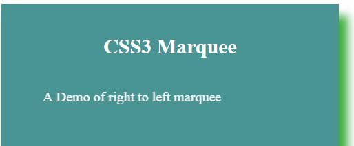 jQuery marquee