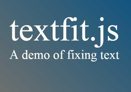 jQuery fix text