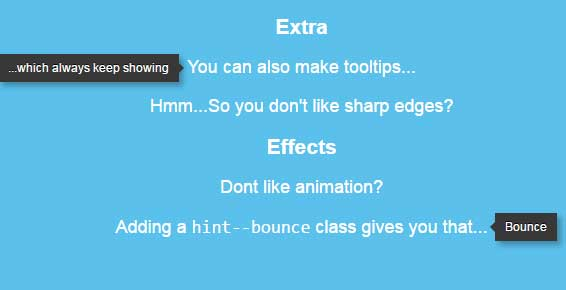 css tooltips animation