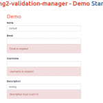 5 Form Validation Module/Directives for AngularJS / AngularJS 2