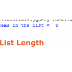 The len() method for getting the length of a list
