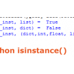 What is isinstance function in Python?