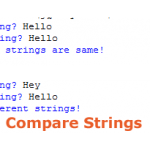 How to compare strings in Python?