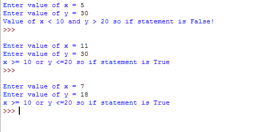 5 Examples of Python or operator with if statement