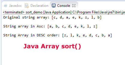 11 Examples of Sorting in Java – Sort Arrays, ArrayList