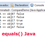 What is Java equals() method?