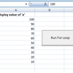 The For loop in Excel VBA