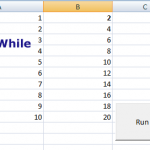 The While and Do loops in VBA