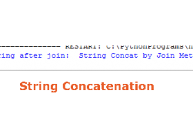 How to concatenate strings in Python?
