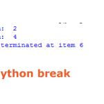 The break statement in Python