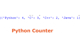 The Counter subclass in Python