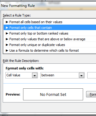 Excel duplicate contains