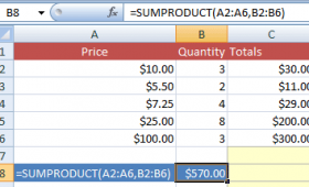 What is SUMPRODUCT function in Excel?
