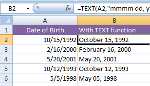 3 Ways of How to change date format in Excel? (14 date formulas)