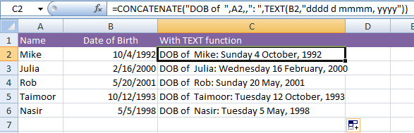 how to change language date in excel