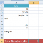 How to Count in Excel?