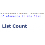 The List Count Function in Python