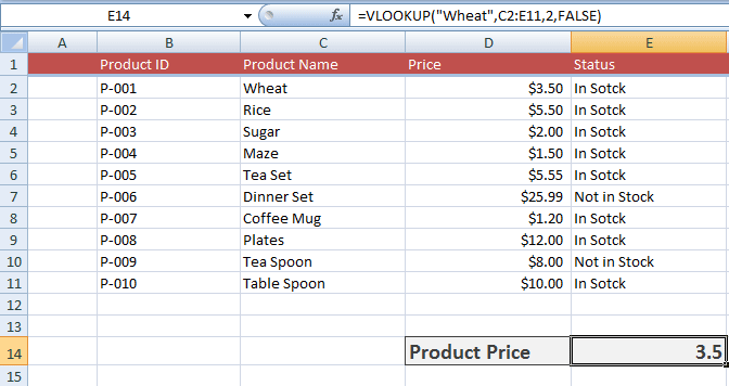 7 Examples Of How To Use Vlookup In Excel