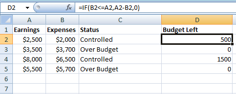 IF calculate