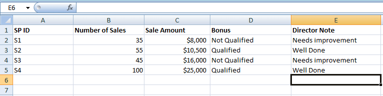 Excel AND IF