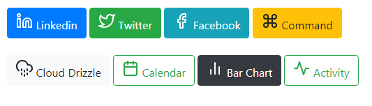 Bootstrap feather icon