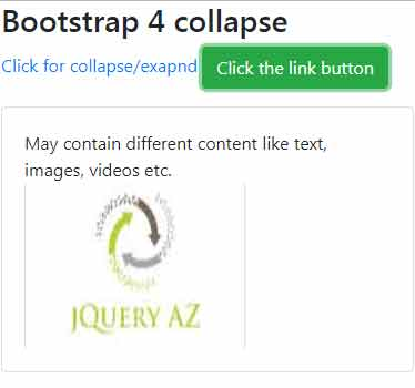 Bootstrap 4 collapse