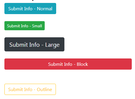 Bootstrap 4 submit buttons