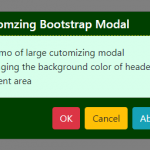The Modal Component in Bootstrap 4