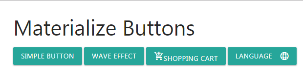 materialize button simple
