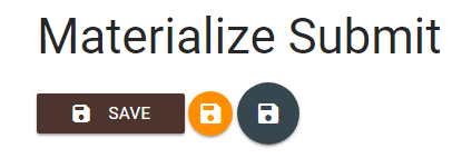 materialize button submit