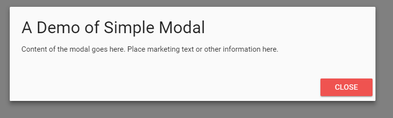 materialize modal simple
