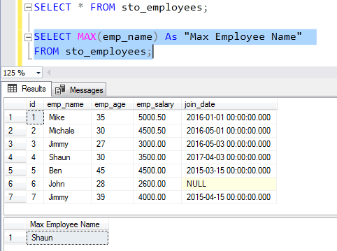 SQL SUM character