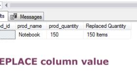 MS SQL Server/MySQL REPLACE function