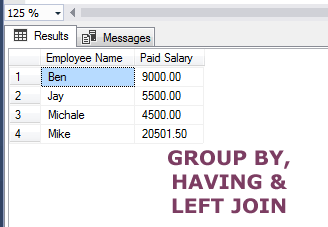SQL LEFT_JOIN GROUP-BY