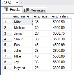 SQL SELECT columns