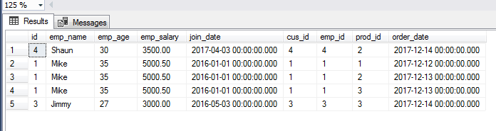 SQL JOIN ORDER BY
