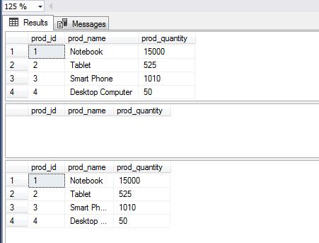 SQL DECLARE DELETE