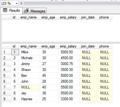 SQL INSERT SELECT column