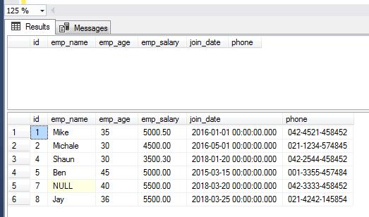 SQL INSERT DBs