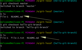 How to switch branches in Git?