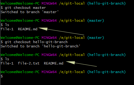 2 Examples of How to Change/Switch a branch in Git by