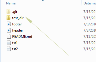 Git remove directory