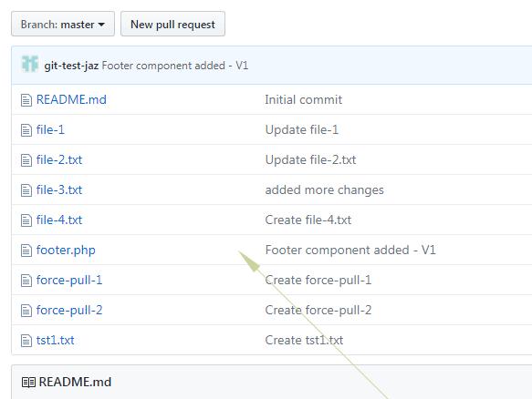 Git commit remote