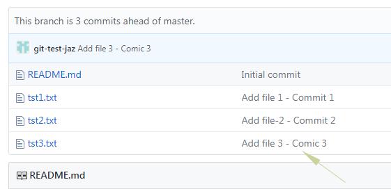 Git undo message