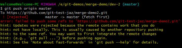 Git merge conflict