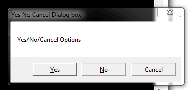 C# yes-no-Calcel-box