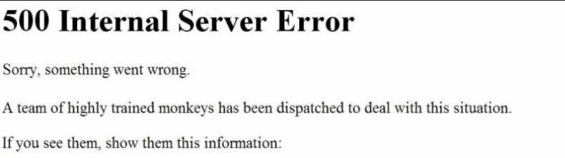 http error 500 2 genenral
