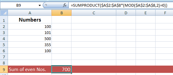 3 Examples to Learn Excel MOD Function to Get Remainder